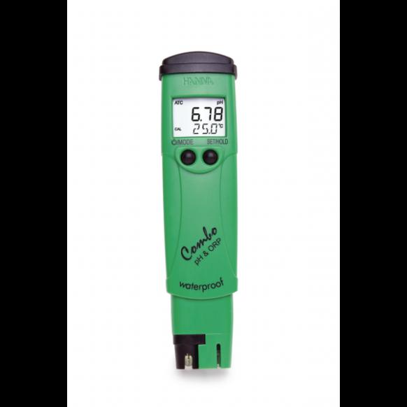 Tester pH, chloor & temperatuur HI98121