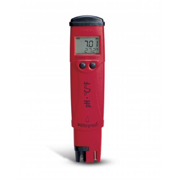 Tester pH & temperatuur HI98127