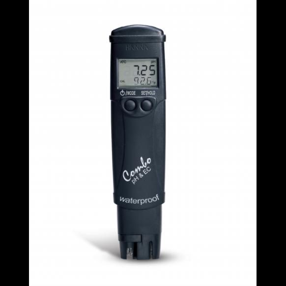 Tester pH, zout & temperatuur HI98130