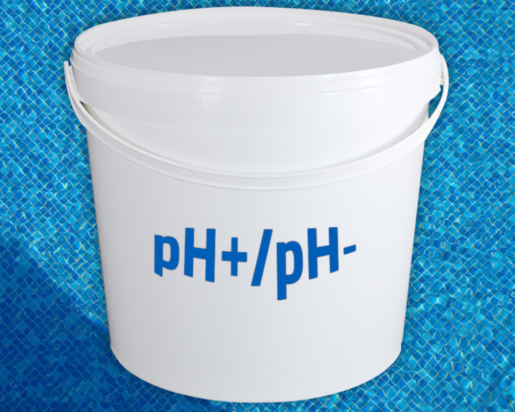 Toevoegen van pH minus heeft geen invloed op de pH?